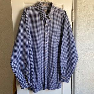 Peter Millar Men's XL Button-Down Cotton Shirt